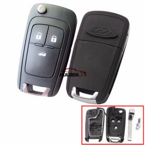 For Chevrolet Cowards 3 Button Replacement Shell For 15-19 years