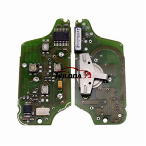 For Original Peugeot FSK 4 button flip remote control with 433Mhz PCF7941 Chip for 307&407 Blade (After April 2011 year)