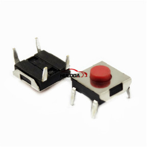 Muti-function remote key button PCB button. It is easy for locksmith engineer to use. 8#  Size:L:6.2mm,W:6.2mm,H:2.7mm