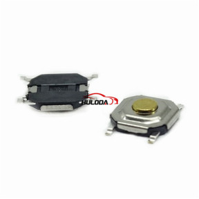 Muti-function remote key button PCB button. It is easy for locksmith engineer to use.   4# Size:L:4mm,W:4mm,H:1.5mm