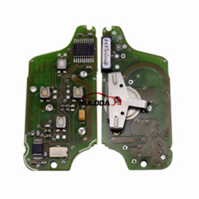 For Original  Citroen ASK 4 button flip remote control with 433Mhz PCF7941 Chip for 307&407 Blade (Before 2011 year)