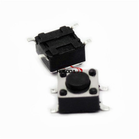 Muti-function remote key button PCB button. It is easy for locksmith engineer to use.  6#  Size:L:3mm,W:6mm,H:4.3mm