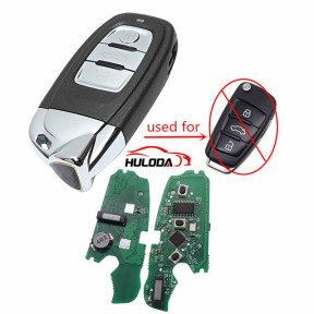 For Audi Keyless MQB 3B flip remote key with ID48 chip-434mhz ASK model,Modified as Lamborghini