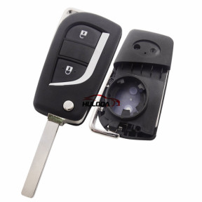 For Toyota Corolla  2Button Replacement  remote key Shell
