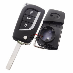 For Toyota Corolla  3 Button Replacement  remote key Shell