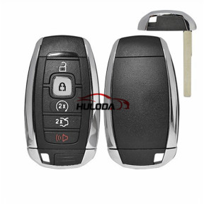 For  Lincoln  4+1 button remote key blank,Applicable Ford Lincoln intelligent remote shell