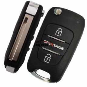 For Kia Sportage-R 3 button remote key blank