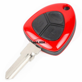 Ferrari 3 button remote key shell with left blade no logo