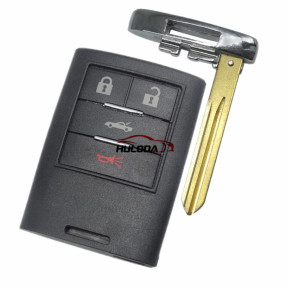 For Cadillac 4 button  remote key blank