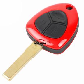 Ferrari 3 button remote key shell   no logo