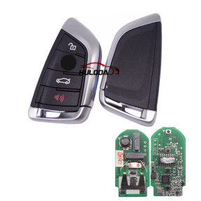 For AfterMarket BMW smart card 3 button remote key With 315MHZ PCF7953P /  Hitag / ID49   FCCID:NBG1DGNG1 IC:2694A-IDGNG1