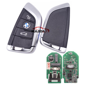 For AfterMarket BMW smart card 3 button remote key With 433MHZ PCF7953P /  Hitag / ID49   FCCID:NBG1DGNG1 IC:2694A-IDGNG1