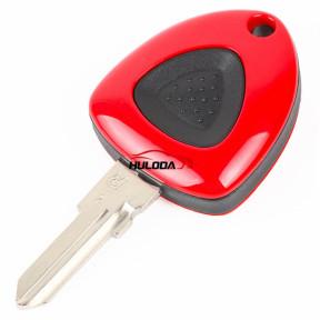 Ferrari 1 button remote key shell with left blade no logo