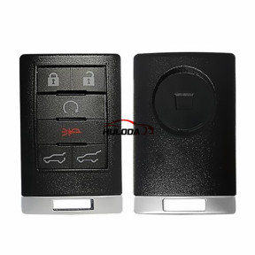 For Cadillac 6 button remote key Shell
