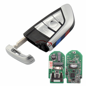 For AfterMarket BMW smart card 3 button remote key With 433MHZ PCF7953 chip FCCID:NBG1DGNG1 IC:2694A-IDGNG1
