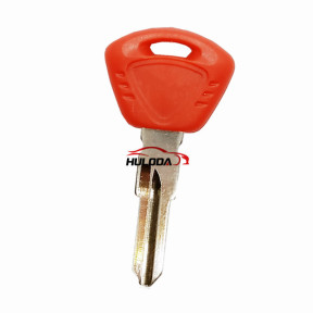 For Triumph motorcycle key with right blade (red)