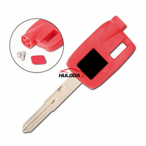 Suzuki motorcycle bike key blank(red)