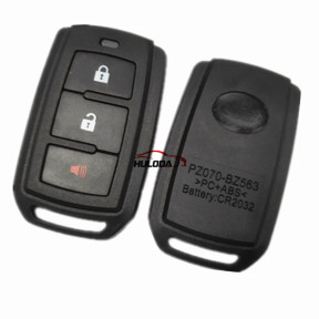 For Toyota 2+1 Button   remote key Shell