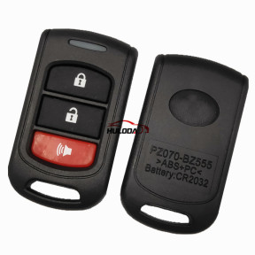 For Toyota 2+1 Button   remote key Shell,with silicone key pad