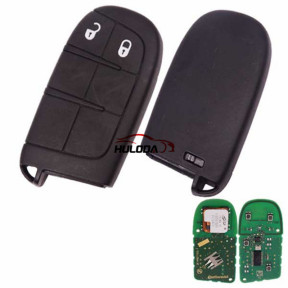 For GMC Dodge 2 button remote key with 433Mhz with logo