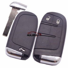 For Chrysler 2 button remote key shell with blade