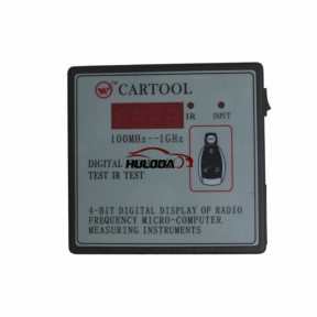 CARTOOL Car IR Infrared Remote Key Frequency Tester (Frequency Range 100-500MHZ) Digital frequency test IR Test