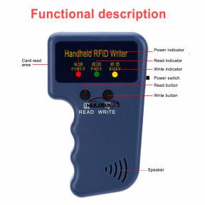 125KHz RFID Copier Writer Duplicator Programmer Reader T5577 EM4305 5200 Rewritable RF Control Card Readers ID Tags Card