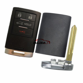 For Cadillacc 4 button  remote key blank