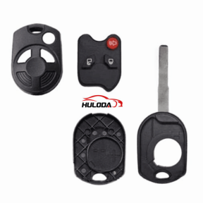 For Ford 3 button remote key blank  with logo