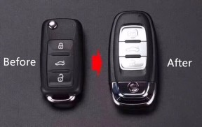 For VW 3 button KYDZ keyless  remote key with 433Mhz ID48 chip  Suit for VW:5KO837202AJ
