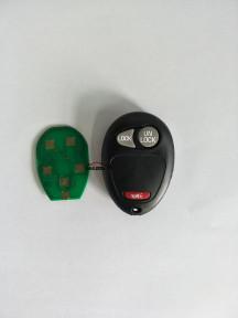 GM remote key 2+1 button 315mhz DELPHI 10335582-88 CANADA:34321021779 FCC ID: L2C0007T