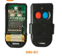 433mhz /315mhz SMC5326 8 dip switch remote control for gate door opener X2