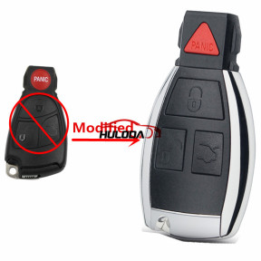 For Mercedes for Benz 3+1 button Modified Smart Remote Key Shell