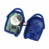 AfterMarket for Ford Transit blue 3 button  Uncut FO21 Blade remote key with ASK 433MHz, 4D63 CHIP FCCID:6C1T 15K601 AG  for Ford Transit WM VM 2006-2014