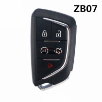 For Cadillac style ZB07 5 button  smart remote key For KD900,URG200,mini KD and KD-X2 generate new keys ,For produce any model  remote