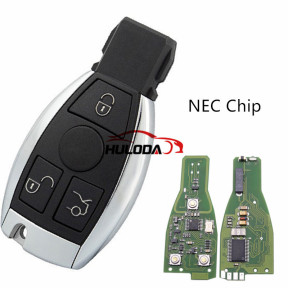 For Benz NEC 3 button remote key  with 315mhz and 434mhz,please choose the frequency
