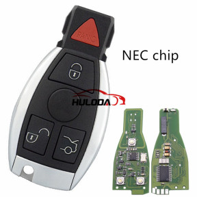 For Benz NEC 3+1 button remote key  with 315mhz