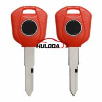 For Honda-Motor  bike key blank, red corlour