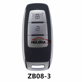 KEYDIY  ZB08-3 button  smart remote key For KD900,URG200,mini KD and KD-X2 generate new keys ,For produce any model  remote