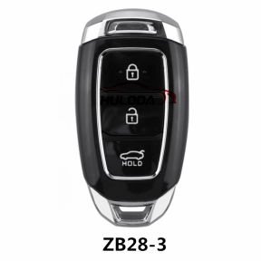 For hyundai KEYDIY  ZB28-3 button  smart remote key For KD900,URG200,mini KD and KD-X2 generate new keys ,For produce any model  remote