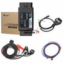 XHORSE 8A non-smart key adapter for all lost keys without disassembly,suitable for Toyota's work using the largest key tool and obd tool