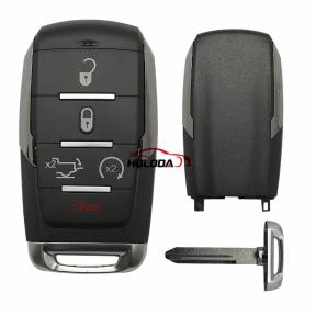 5+1 Button Remote Car Key Shell ,For Chrysler Sebring For Dodge Avenger Nitro For Jeep Smart Key Fob, Uncut Blade