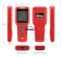 Diagnostic tool Best XTOOL X100 Pro OBD2 Auto Key Programmer/Mileage adjustment Including EEPROM Code Reader with Free Update