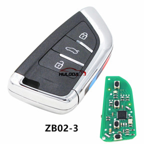 For BMW styleZB02 3 button remote key For KD300,KD900,URG200,mini KD and KD-X2 generate new keys ,For produce any model  remote