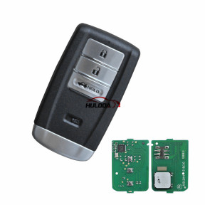 KEYDIY for Acura style ZB14-3 button  smart remote key For KD900,URG200,mini KD and KD-X2 generate new keys ,For produce any model  remote