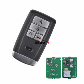 KEYDIY for Acura style ZB14-4 button  smart remote key For KD900,URG200,mini KD and KD-X2 generate new keys ,For produce any model  remote