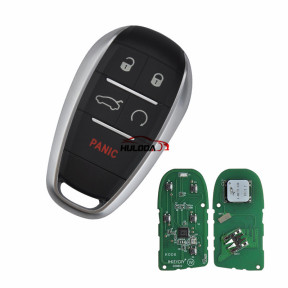 KEYDIY for alfa style ZB16-5 button  smart remote key For KD900,URG200,mini KD and KD-X2 generate new keys ,For produce any model  remote