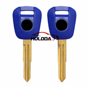 Honda Motorcycle key blank with right blade (blue colour)
