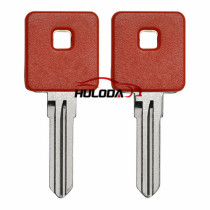 For Harley motor key shell with red colour