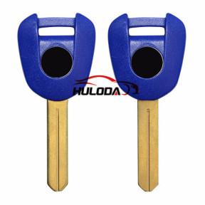 For Honda-Motor bike key blank(blue colour)